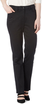 Focus 2000 Black Pocket Straight-Leg Pants