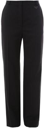 Prada High-Waisted Wide Leg Trousers