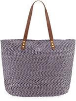 San Diego Hat Company Paperbraid Shoulder Tote Bag, Blue