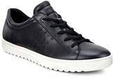 Ecco Black Sambal Fara Leather Sneaker - Women