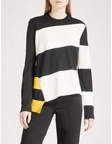 Calvin Klein Striped wool-blend top