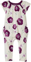 Tea Collection Bougainvillea Pocket Romper (Baby) - Chalk - 3-6