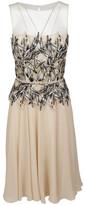 Blumarine Macrame Lace Panel Dress