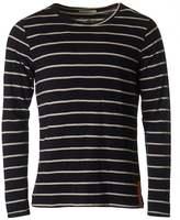Nudie Jeans Orvar Long Sleeved Striped T-shirt