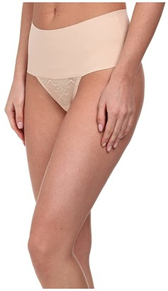 Spanx Undie-tectable Lace Thong (Soft Nude) Women's Underwear
