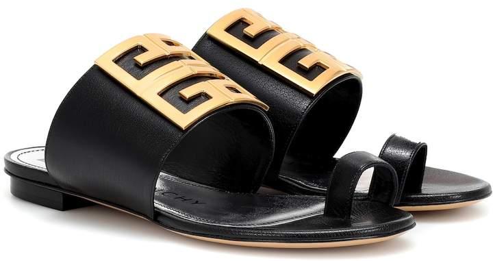 Givenchy Embellished leather sandals