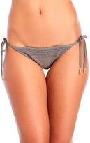 Red Carter Neo Bohemia Side Tie Bikini Bottom