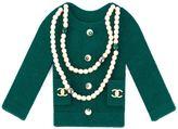 Chanel Vintage broche à veste en feut
