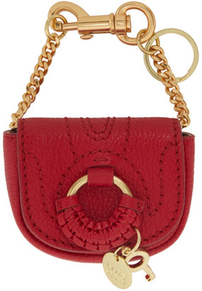 See by Chloe Red Hana Coin Pouch