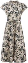 Bellerose abstract print shirt dress