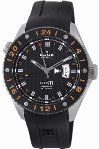 Edox Men's 93002 TIN NIN Class-1 Automatic GMT Watch