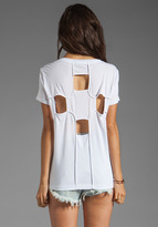 Funktional Geometric Cut Out Back Tee