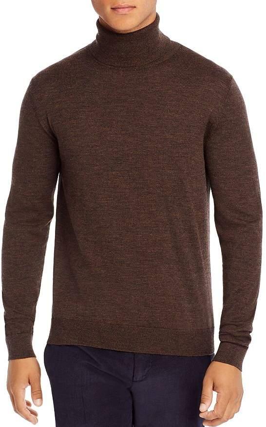 The Kooples Merino Wool & Cashmere Turtleneck Sweater