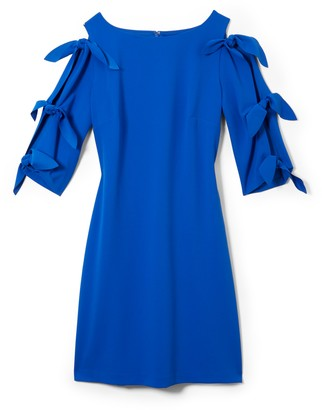 Vince Camuto Tie-Sleeve Dress