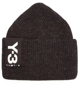 Y-3 Turn-up Wool-blend Beanie