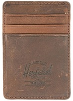 Herschel Raven Leather