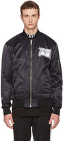 Versus Black Zayn Edition Patch Bomber Jacket