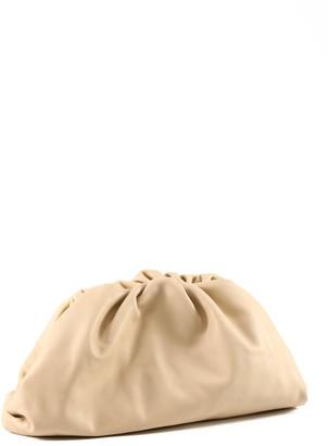 Bottega Veneta The Pouch clutch beige
