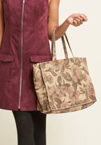 ModCloth Necessary Refresh Suede Tote Bag