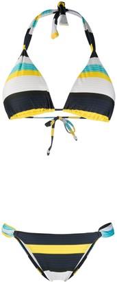 Cia.Maritima Nassau striped bikini set