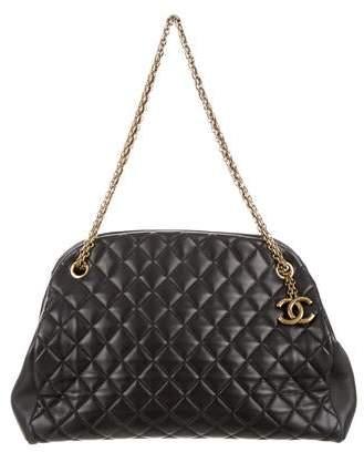 Chanel Just Mademoiselle Large Bowler Bag