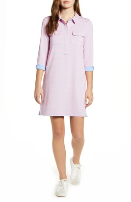 Vineyard Vines Margo Stripe Performance Shirtdress