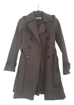 Comptoir des Cotonniers Khaki Cotton Trench coats