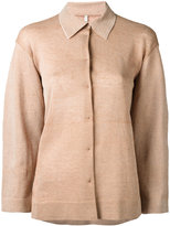 Boboutic - loose-fit cardigan - women - Linen/Flax/Cotton/Polyamide - XS
