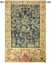 "Garden of Delight 80"" x 56"" Wall Tapestry with Hardware"