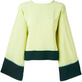 Etro flared sleeve blouse - women - Silk - 38