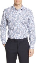 Ted Baker Jalapen Trim Fit Floral Dress Shirt