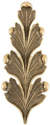 Ann Demeulemeester Textured Leaf-Shaped Pin