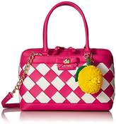 Betsey Johnson Forbidden Fruit Satchel