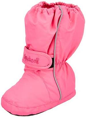 Playshoes Unisex Kids' Thermo Bootie Snow Boots, (Pink 18), 16/17 EU