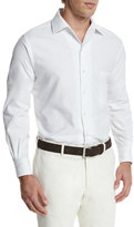 Loro Piana Andre Button-Down Shirt, Optical White