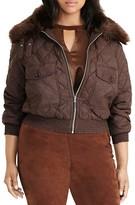 Lauren Ralph Lauren Plus Quilted Bomber Jacket