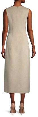 The Row Bonec Virgin Wool Sheath Dress