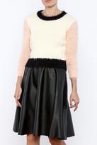 Glamorous Colorblock Crop Sweater