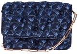 Benedetta Bruzziches fan printed quilted clutch