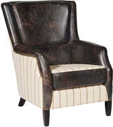 Andrew Martin Chelsea Ticking Fudge Chair
