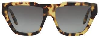 Victoria Beckham Tortoiseshell Square Sunglasses