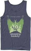 Disney Men's Disney's Sleeping Beauty Spinning Wheel Tank Top