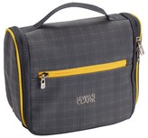 Lewis N. Clark ; Hanging Toiletry Bag Plaid