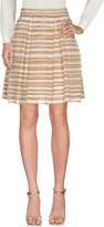 Ermanno Scervino Knee length skirts - Item 35311789