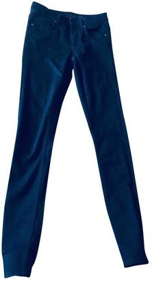 Cos Black Cotton - elasthane Jeans for Women