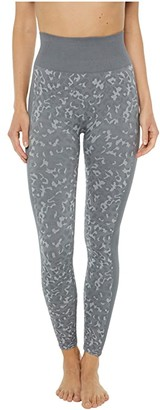 Splendid Studio Kylie 7/8 Cropped Seamless Leggings (Grey Leopard) Women's Casual Pants