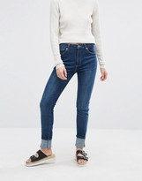 Monki Mocki Superstretch Slim Mid Waist Jean