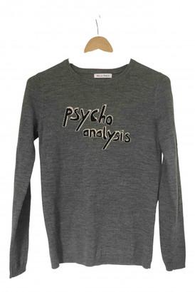 Bella Freud Grey Wool Knitwear