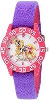 Disney The Princess & The Frog Kids' W002827 Palace Pet Analog Display Analog Quartz Purple Watch