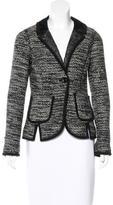 Chris Benz Bouclé Wool Blazer